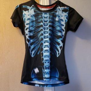 Inknburn Women's XS Blue X-Ray Tech Shirt